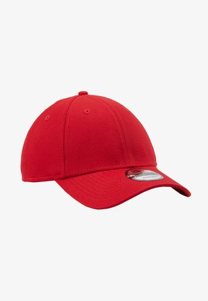 BASIC FORTY - Cap - scarlet/whte