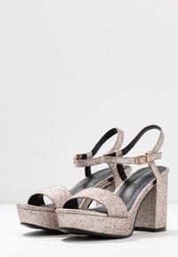 Glamorous - Sandalias de tacón - pink glitter - 4