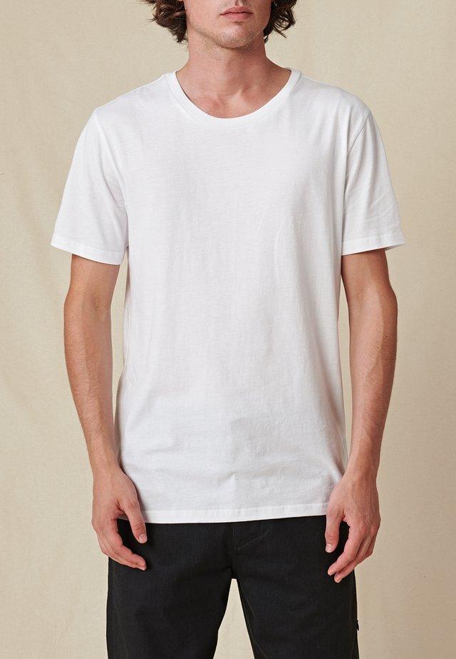 DOWN UNDER TEE - T-shirt basique - white