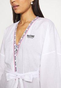 Moschino Underwear - NIGHT GOWN - Badjas - white - 5