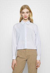 Weekday - GWEN  - Button-down blouse - blue/white - 0