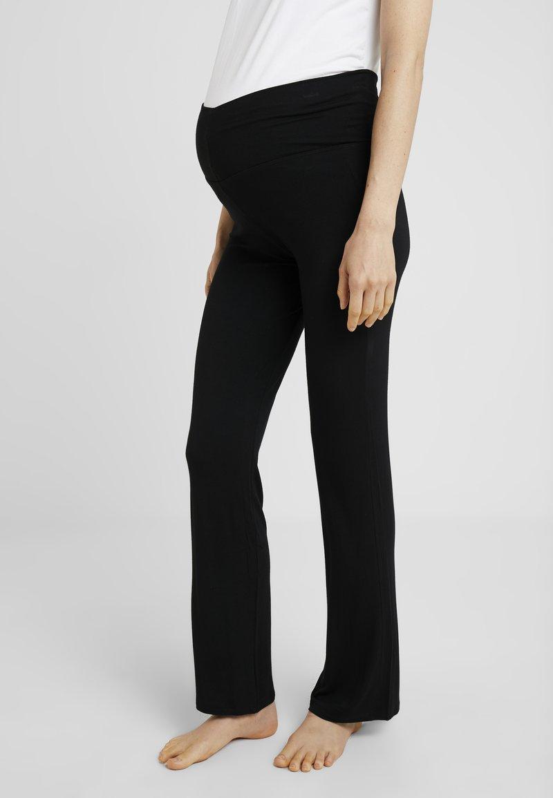 Cache Coeur - SERENITY PANTS - Pyjamabroek - black