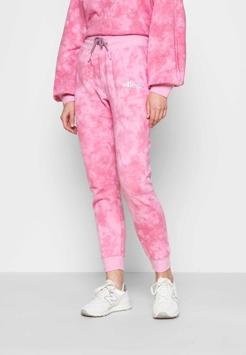 Ellesse - LORIOR - Tracksuit bottoms - pink