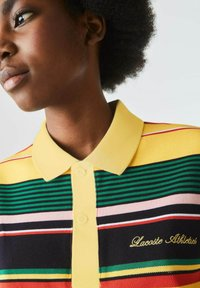 Lacoste LIVE - Polo shirt - jaune / blanc - 2
