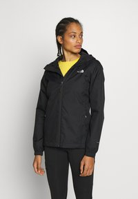 The North Face - QUEST JACKET - Chaqueta Hard shell - black/foil grey - 0