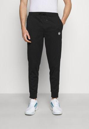 TRACK PANTS YOUNGLINE - Teplákové kalhoty - anthracite/blanc de blanc