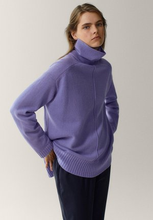 Jumper - dark purple