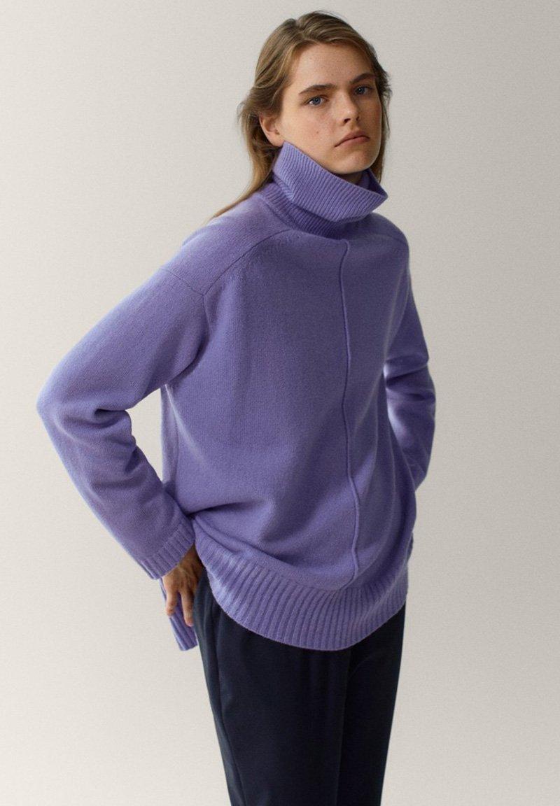 Massimo Dutti - Pullover - dark purple