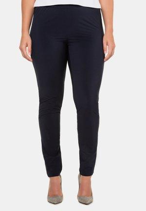 STRETCHHOSE SIENNA ELASTIKBUND - Leggings - Trousers - dunkelrauchblau