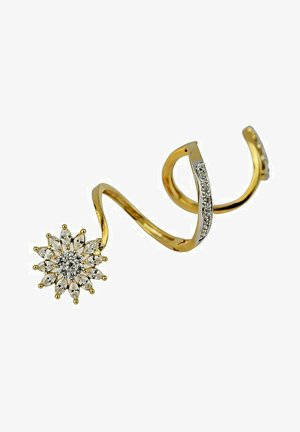 PASSION FLOWER CLIMBING  - Anello - gold coloured