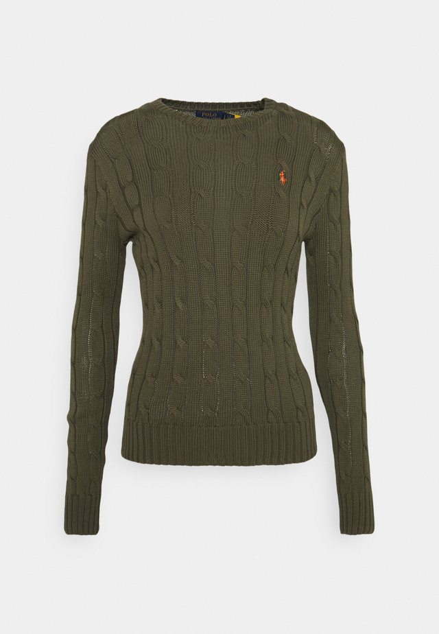 CLASSIC - Sweter - defender green