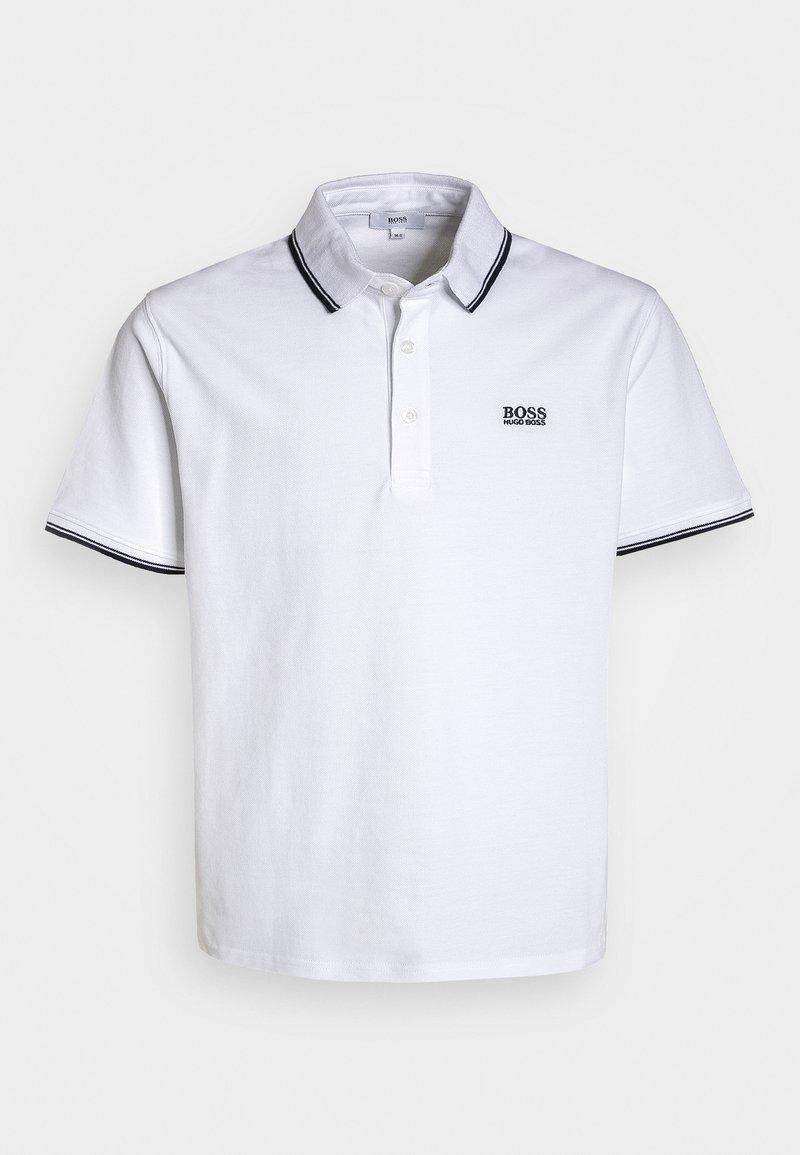 BOSS Kidswear - MANCHES COURTES - Polo shirt - blanc