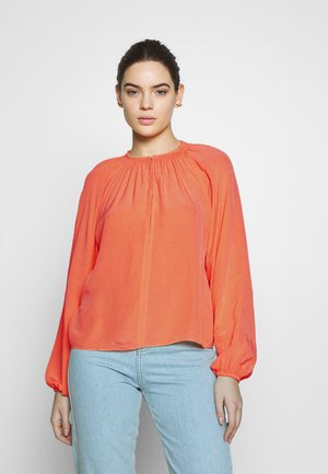 KAIA BLOUSE - Blouse - bright coral