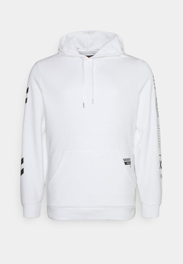 GRAPHIC PRINT HOODIE - Sweater - white