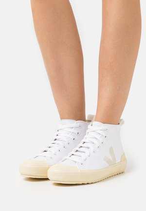 NOVA  - High-top trainers - white/butter