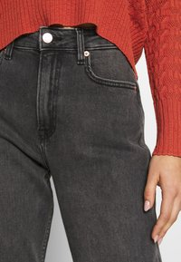 Tommy Jeans - HARPER - Straight leg jeans - black denim - 5