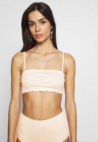 Monki - PAULINE AND GETRUDE BIKINI SET - Bikini - white light - 3