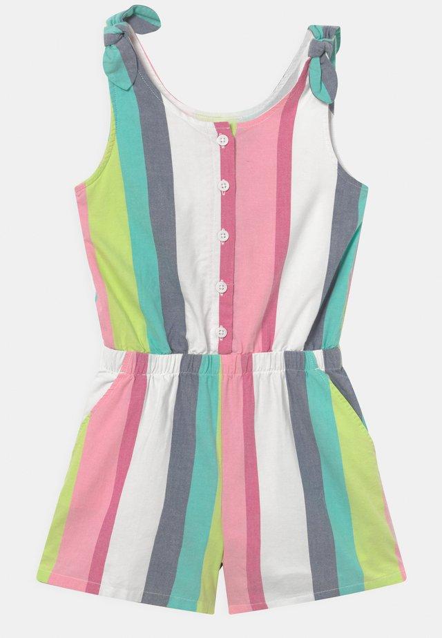 GIRL TIE SHOULDER - Jumpsuit - multi-coloured