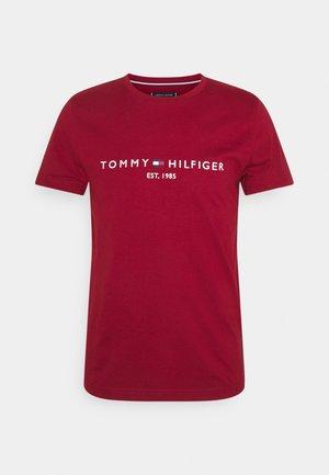 LOGO TEE - T-shirts print - regatta red