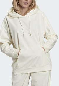 adidas Originals - SPORTS INSPIRED HOODED SWEAT - Felpa con cappuccio - owhite - 3