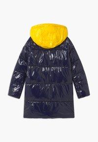 Tommy Hilfiger - HIGH SHINE GLOSSY LONG PUFFER - Winter coat - blue - 1