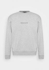 Mennace - ESSENTIAL REGULAR UNISEX - Sweatshirt - mottled grey - 0
