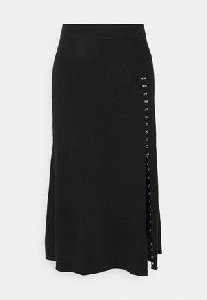 JUPITTA - A-line skirt - noir