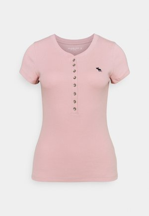 HENLEY - Basic T-shirt - pink