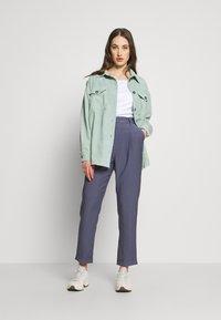 Moves - SAVISA - Button-down blouse - mint green - 1