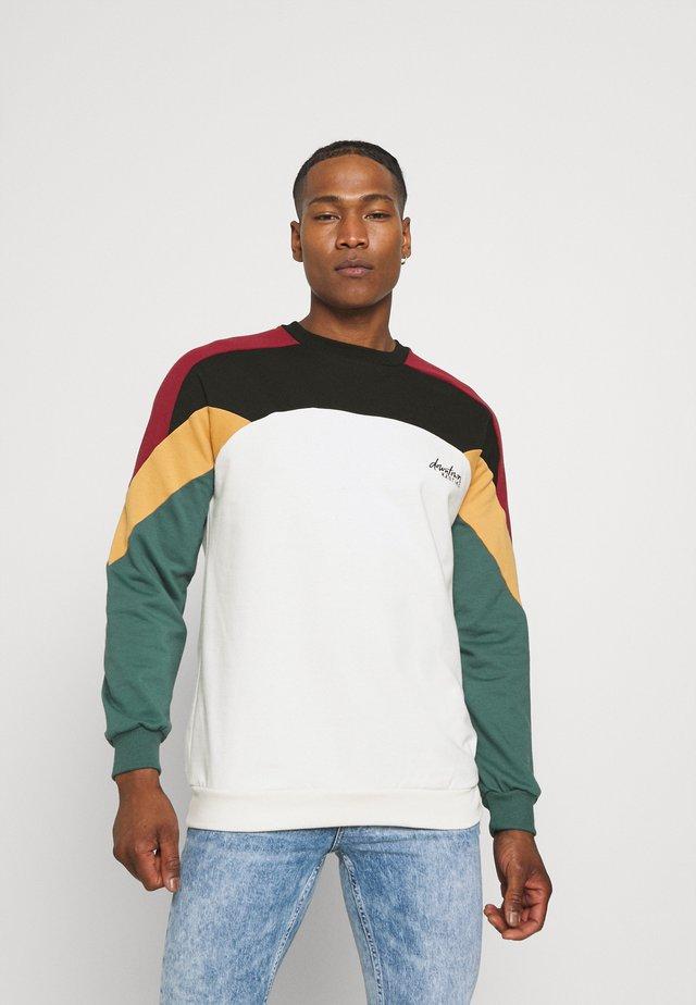 UNISEX CREW DOWNTOWN - Sweatshirt - multicolor
