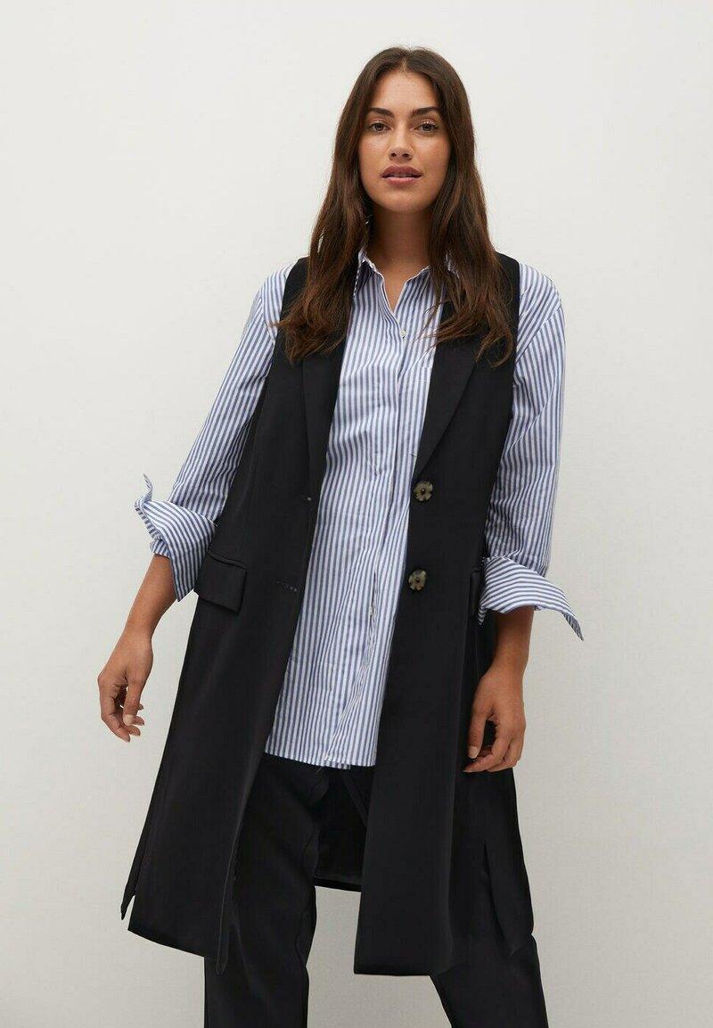 Violeta by Mango - LEONOR8 - Waistcoat - schwarz