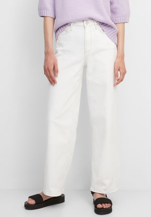 TOMMA - Jeansy Bootcut - multi soft off-white