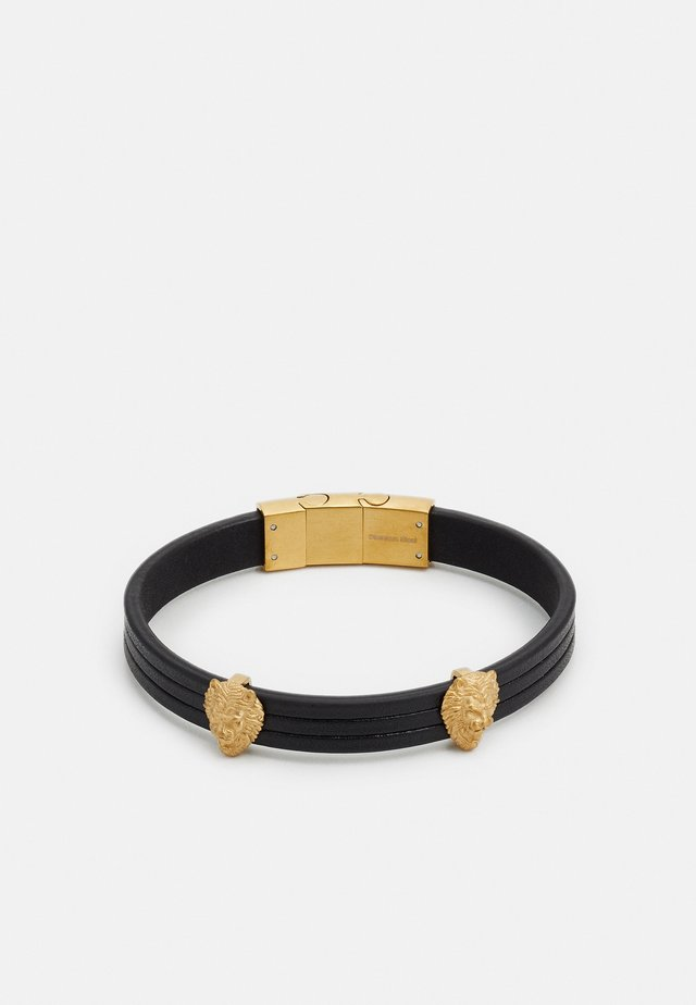 HERO LIONS - Armband - gold-coloured/black