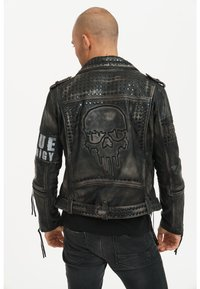 Trueprodigy - Leather jacket - black - 0
