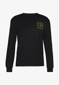 Common Kollectiv - UNISEX ZONE LONGSLEEVE  - Bluzka z długim rękawem - black - 0