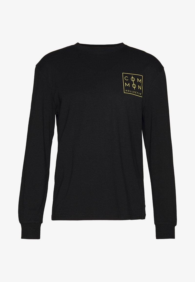 Common Kollectiv - UNISEX ZONE LONGSLEEVE  - Bluzka z długim rękawem - black