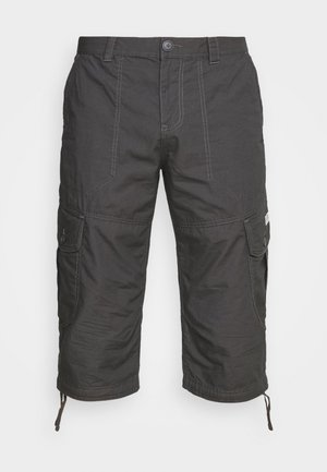 MAX OVERKNEE - Shorts - tarmac grey