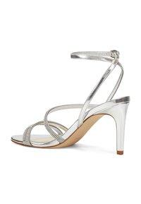 Nine West - High heeled sandals - silver - 2