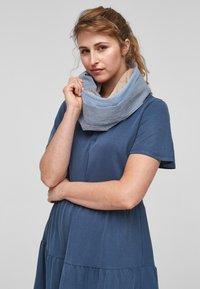 s.Oliver - TUBE - Snood - dark blue stripes - 1