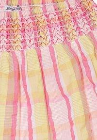 Lemon Beret - SMALL GIRLS SKIRT - Jupe trapèze - pink/yellow - 3