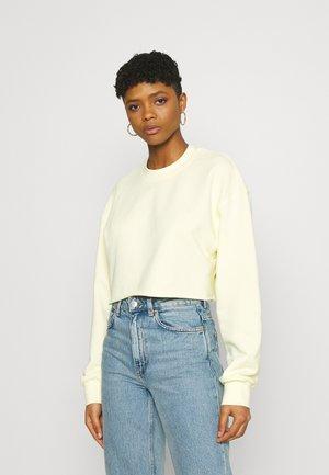 JOY - Sweatshirt - light yellow