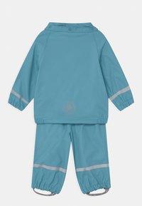 Color Kids - SET SOLID UNISEX - Vodotěsná bunda - delphinium blue - 2