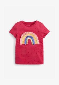 Next - CONFETTI RAINBOW - Print T-shirt - pink - 0