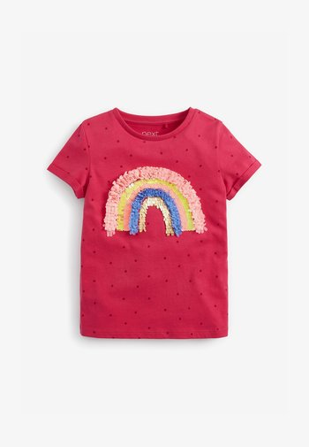 CONFETTI RAINBOW - Print T-shirt - pink