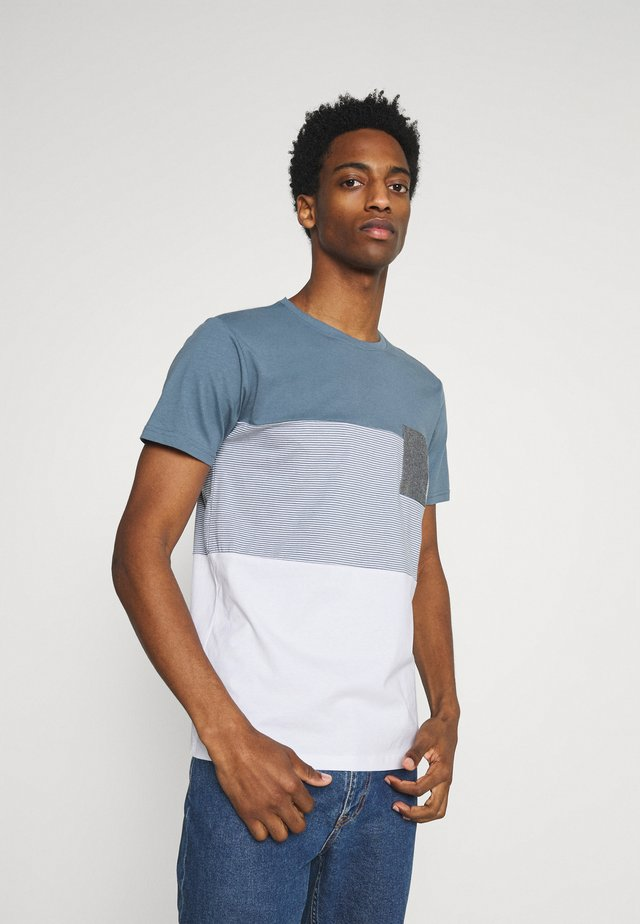 RIGGIN - Print T-shirt - china blue