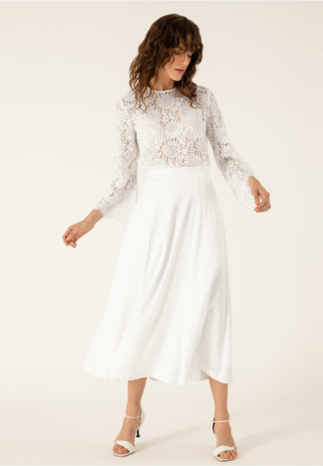 A-line skirt - snow white