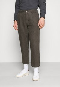 Afends - LIVELY ONES SUIT PANT - Trousers - silt - 0