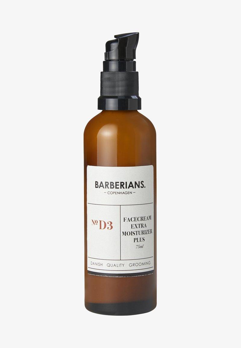 Barberians - FACE CREAM MOISTURIZER PLUS - Dagcrème - -