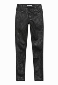 Name it - NKFPOLLY PANT - Trousers - black - 0