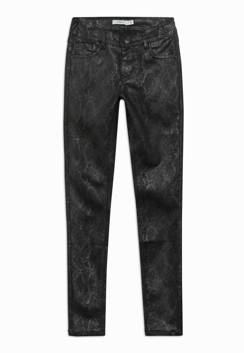 Name it - NKFPOLLY PANT - Trousers - black